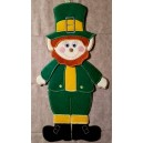 In Hoop Leprechaun Door Hanger