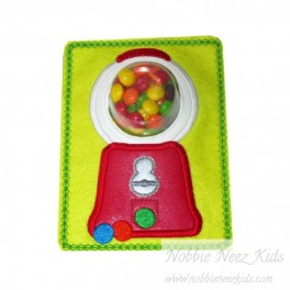 In Hoop Gumball Machine Lip/Candy Balm Holder