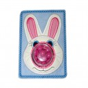 In Hoop Bunny Face Lip/Candy Balm Holder
