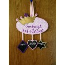 In Hoop Crown Door Hanger