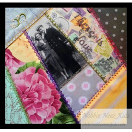 In Hoop There is Love Quilt Block