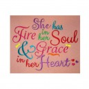 Fire and Heart Saying