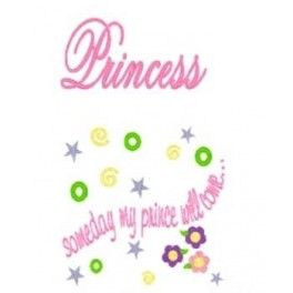 Applique Princess Saying