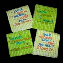 Funny Saying Towel Set