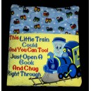 Pillow Palz Little Train Reading
