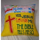 Pillow Palz Jesus Loves Me