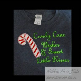 Candy Cane Wishes and Kisses