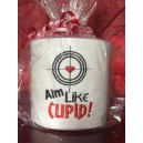Aim Like Cupid Toilet Paper Design