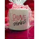 Love Stinks Toilet Paper Design