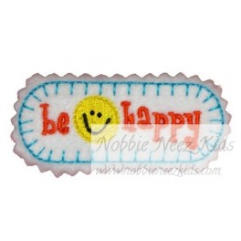 In Hoop Be Happy Hair Clip