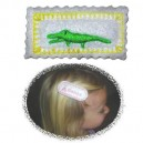 In Hoop Alligator Hair Clip