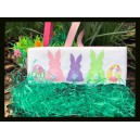 Blanket Stitch Bunny and Eggs