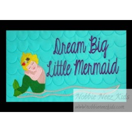 Pillow Palz Dream Big Little Mermaid