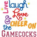 Live Laugh Love Gamecocks