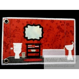 ITH  Flat Doll House - Add on Pages - Baby Room and Bathroom