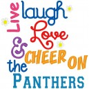 Live Laugh Love Panthers