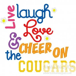 Live Laugh Love Cougars
