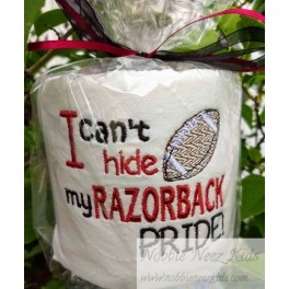 Toilet Paper Razorbacks Football