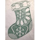 Mandala Christmas Stocking