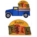 In Hoop Interchangeable Happy Fall For Truck