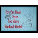 Pillow Palz Boots and Books