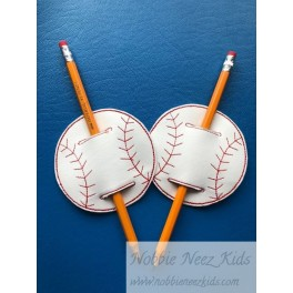 In Hoop Baseball Pencil Holder