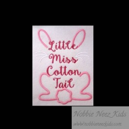Little Miss Cotton Tail Outline