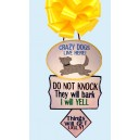 In Hoop Door Hanger Dog Barking