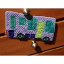 In Hoop Quilted Motor Home Pot Holder