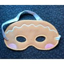 In Hoop Gingerbread Mask