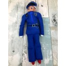 In Hoop Elf Costume Policeman