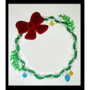 Wreath with Ornaments Frame