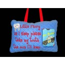 In Hoop Tooth Fairy Pillow with Pocket