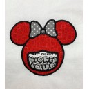 Masked Ms Mousehead Applique