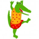 applique-dancing-alligator