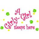 Pillow Talk Girly Girl Mega Hoop Design