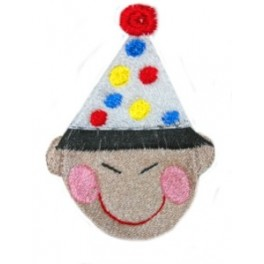 Fringe Asian Boy Head Birthday
