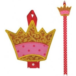 Crown Bow Holder