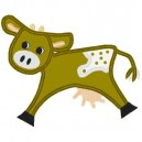 applique-cow