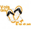 Vols Girls Applique