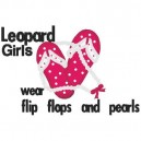 Leopard Girls Applique