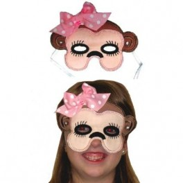 Girl Monkey Mask