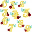 Butterfly and Ladybugs Numbers