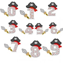Pirate Hat Numbers