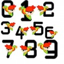 Pirate Head Numbers