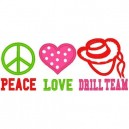 Love Peace Drill Team