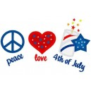 Love Peace Fourth