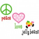 Love Peace Jelly Beans