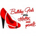 Stilettos and Pearls Bulldog