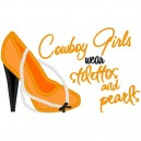 Stilettos and Pearls Cowboy